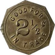 2 ½ Cents - Wilson & Schneider – reverse