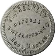 5 Cents - E.L. Keckley – obverse