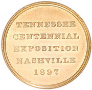 Dollar - Tennessee Centennial Expo (Official Medal) – obverse