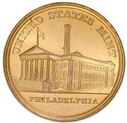 Dollar - Tennessee Centennial Expo (Official Medal) – reverse