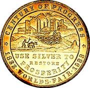 Dollar - Colorado Century of Progress (Type IV) – obverse