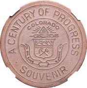 Dollar - Colorado Century of Progress (Type II) – obverse