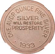 Dollar - Colorado Century of Progress (Type II) – reverse