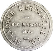 50 Cents - Schacher Mercantile Co. – obverse