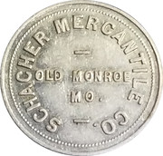 1 Dollar - Schacher Mercantile Co. – obverse