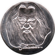 Token - Harry Potter and the Philosopher's Stone (Albus Dumbledore) – obverse