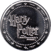 Token - Harry Potter and the Philosopher's Stone (Albus Dumbledore) – reverse