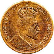 Edward VII Medallion – obverse
