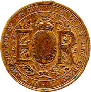 Edward VII Medallion – reverse