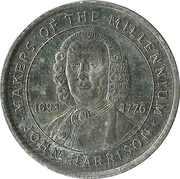Token - Sainsbury's Makers of the Millennium (John Harrison) – obverse