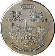 CONOCO (UK) Limited - 1972-1989 – obverse