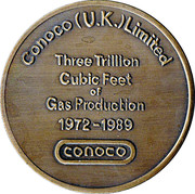 CONOCO (UK) Limited - 1972-1989 – reverse