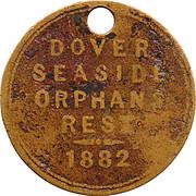 Dover Seaside Orphans Rest Token – obverse