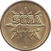 Game Token - Sega City – obverse