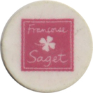 Shopping Cart Token - Françoise Saget – obverse