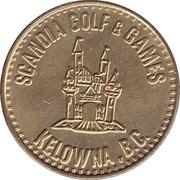 Game Token - Scandia Golf & Games (Kelowna, B.C.) – obverse