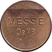 Vending Machine Token - Messe OeNB (Ein Warm-Getrank) – obverse