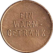 Vending Machine Token - Messe OeNB (Ein Warm-Getrank) – reverse