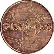 Game Token - Fun Planet – obverse
