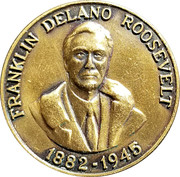 Token - Franklin Delano Roosevelt (Little White House) – obverse