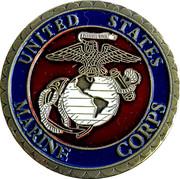 Token - United States Marine Corps – obverse