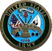 Token - United States Army – obverse