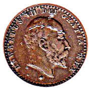 ½ Farthing - Edward VII (Coronation Model) – obverse