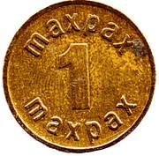 1 Maxpax Drink Token – reverse