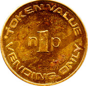 1 New Penny - Lever Industrial – reverse