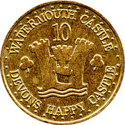 10 Gnolds - Watermouth Castle – obverse