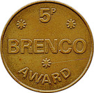 5 Pence - Brenco Award – obverse