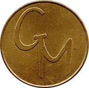 5 Pence - Gemini Token – obverse