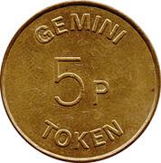 5 Pence - Gemini Token – reverse