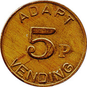 5 Pence (Adapt Vending) – obverse