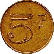 5 Pence (Adapt Vending) – reverse