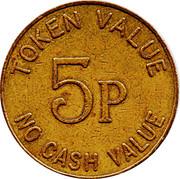 5 Pence - The Noble Orgatisation Ltd. – reverse