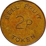 2 Pence - Bell Fruit Token – reverse