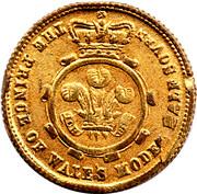 Model Victorian ½ Sovereign – reverse
