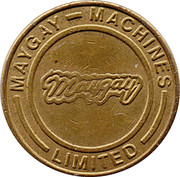 20 Pence - Maygay Machines – obverse