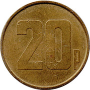 20 Pence - Maygay Machines – reverse