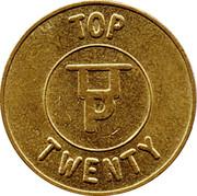 20 Pence - Eurocoin Token (Top Twenty) – obverse