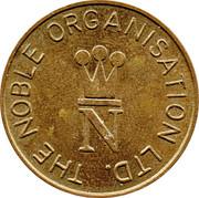 20 Pence - The Noble Orgatisation Ltd. – obverse