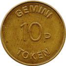 10 Pence - Gemini – reverse