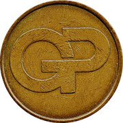 10 Pence Token - Gowerpoint – obverse