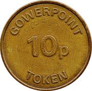 10 Pence Token - Gowerpoint – reverse