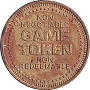 Game Token - The Skating Place (Bradley, IL.) – reverse