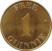1 Guinnie - Guinness Token – reverse