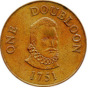 1 Doubloon – obverse