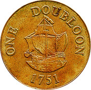 1 Doubloon – reverse