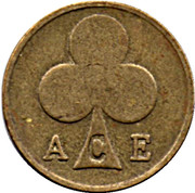 Token - Ace Cafe (20 mm) – reverse